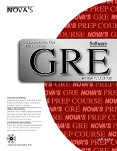 GRE Prep Course book