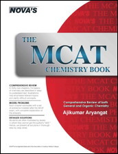 MCAT Chemistry Book cover