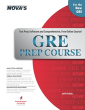 GRE Prep Course Cover