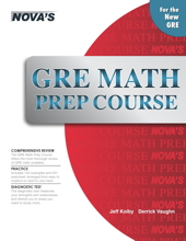 GRE Math Prep Course Cover
