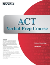 ACT Verbal Prep Course Cover