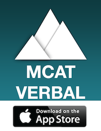 MCAT Verbal Ascent is the smartest and the most convenient MCAT preparation tool.