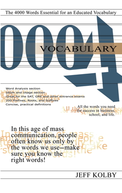 Vocabulary 4000 Cover