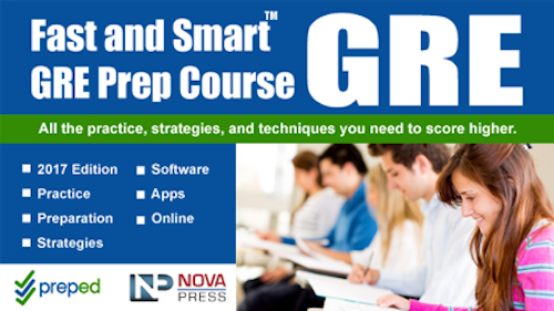 GRE prep software